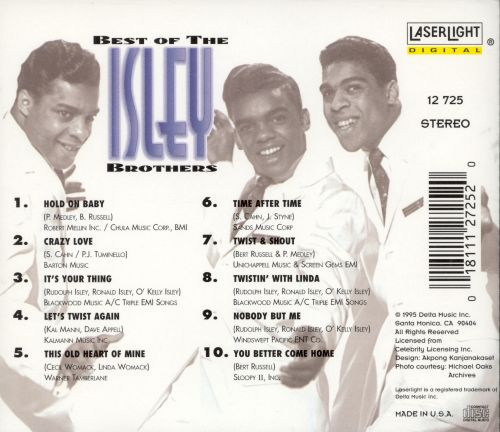 The Best of the Isley Brothers [Laserlight]