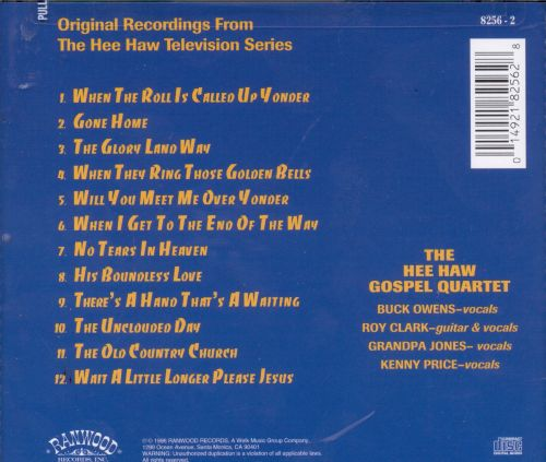 The Best of the Hee Haw Gospel Quartet, Vol. 2