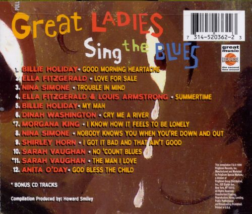 Great Ladies Sing the Blues