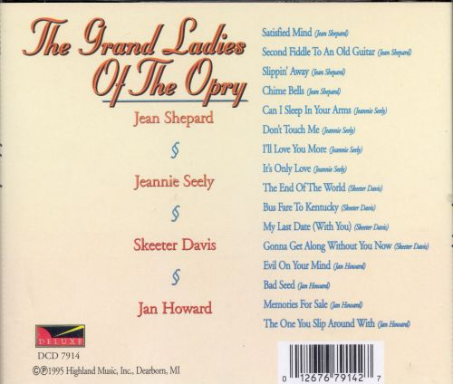Grand Ladies of the Opry