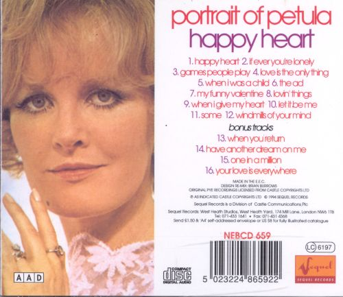 Portrait of Petula