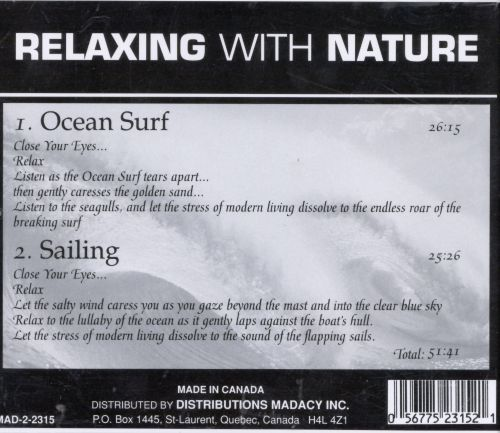 Relaxing with Nature: Ocean Surf & Sailing