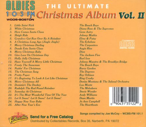 The Ultimate Christmas Album, Vol. 2