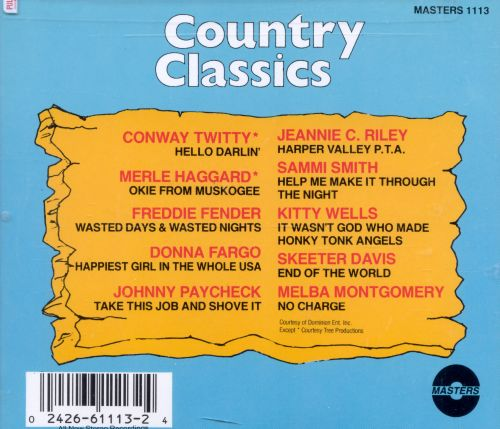 Country Classics [Intercontinental]