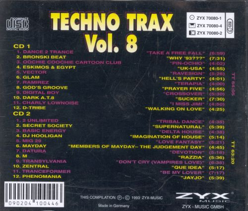 Various - Techno Trax Vol. 17