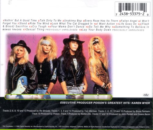 Poison Greatest Hits Album Download
