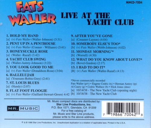 Live at the Yacht Club