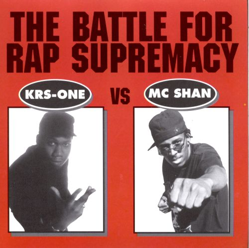 Battle for Rap Supremacy: KRS-One Vs. MC Sha
