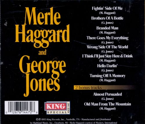 Merle Haggard and George Jones