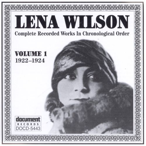 Complete Recorded Works in Chronological Order, Vol. 1 (1922-24)