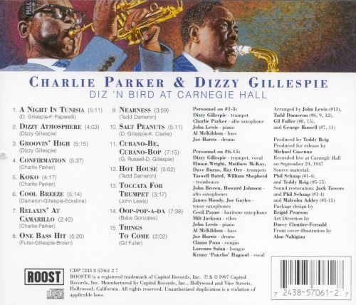 Diz 'N Bird at Carnegie Hall