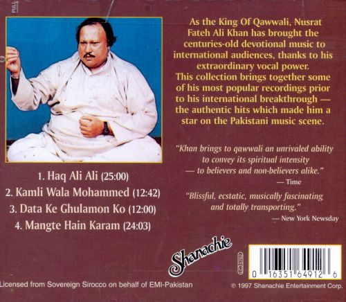 Greatest Hits of Nusrat Fateh Ali Khan