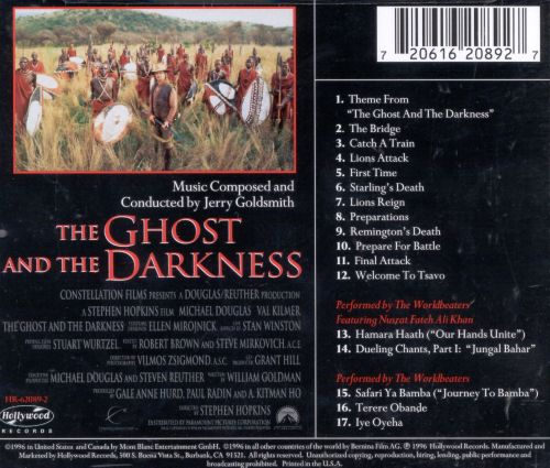 Ghost in the Darkness [Original Motion Picture Soundtrack]