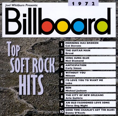 Billboard Top Soft Rock Hits: 1972
