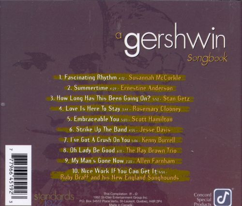 Gershwin Songbook [Concord]