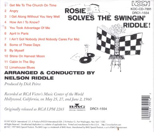 Rosie Solves the Swingin' Riddle!