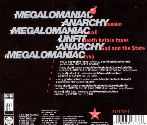 Megalomaniac [CD Single]