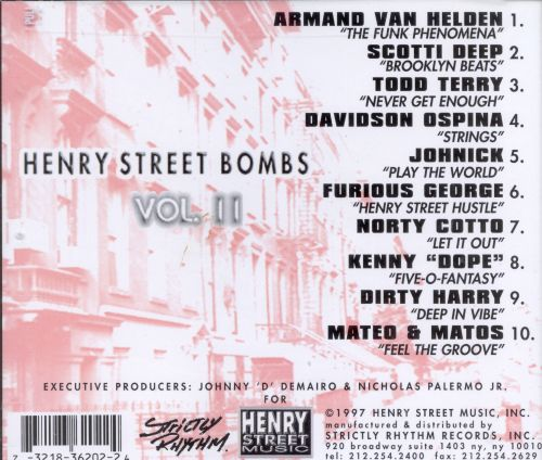 Henry Street Bombs, Vol. 2