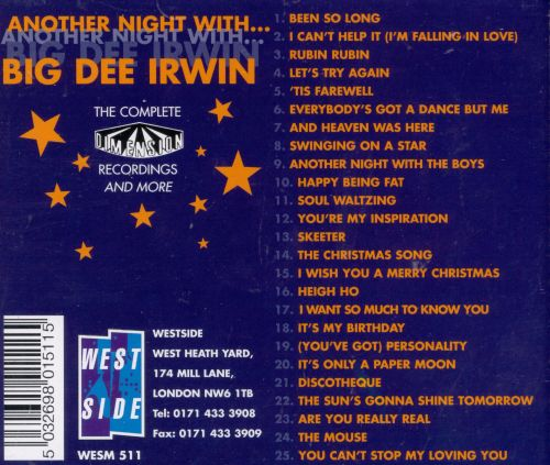 Another Night With Big Dee Irwin