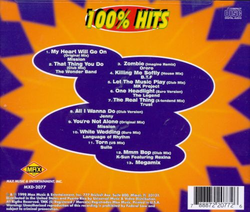 Various - 100% Dance Hits