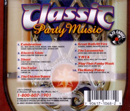 classic party music dj 39 s choice songs reviews
