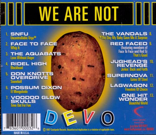 We Are Not Devo