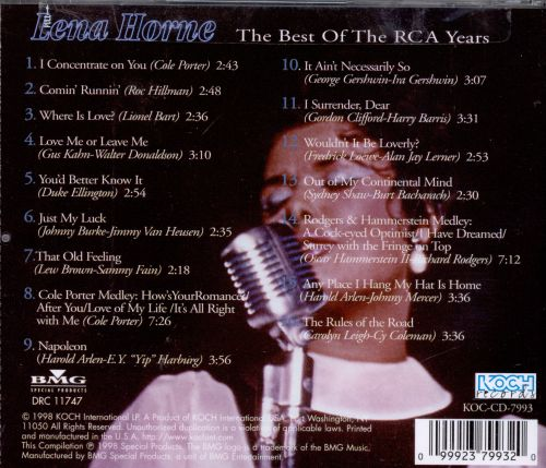The Best of the RCA Years