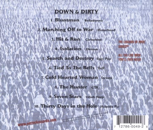 Legends of Rock: Down & Dirty