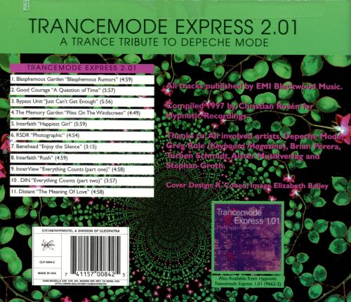 Trancemode Express 2.01: A Trance Tribute to Depeche Mode