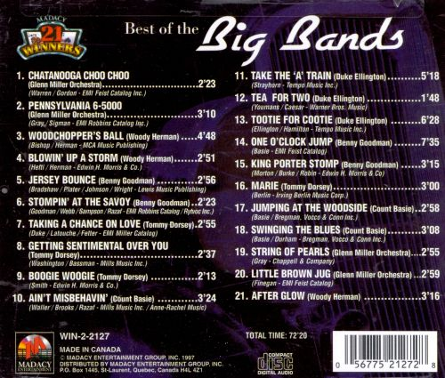The Best of the Big Bands [Excelsior]