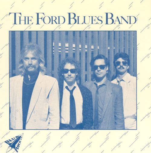 "Patrick Ford's ""The Ford Blues Band"", sans Robben and Mark"