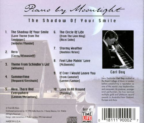 Piano by Moonlight: Shadow of Your Smile