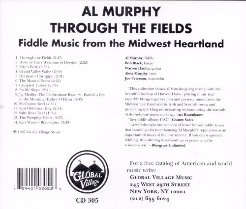Through the Fields: Fiddle Tunes from the Midwest