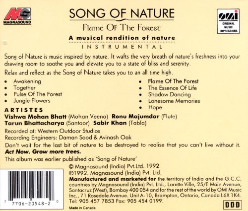Song of Nature: Flame of the Forest