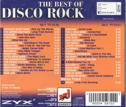 Best of Disco Rock Classics