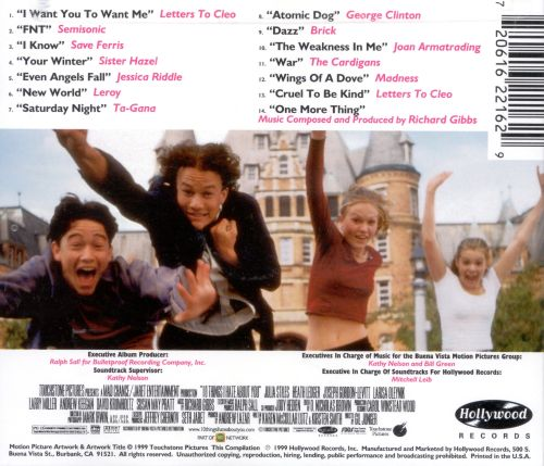 ... 10 Things I Hate About You [Original Soundtrack]