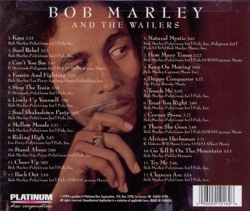 Bob Marley and the Wailers [2-CD] [Platinum]