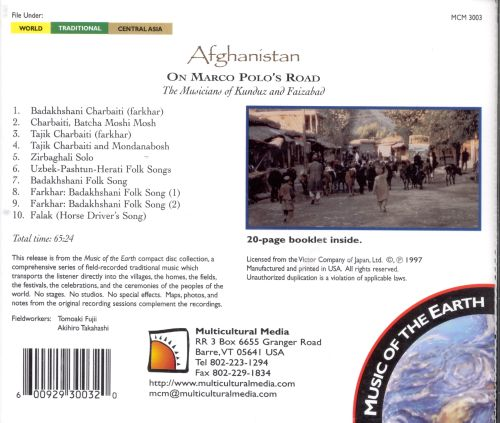 Afghanistan: On Marco Polo's Road
