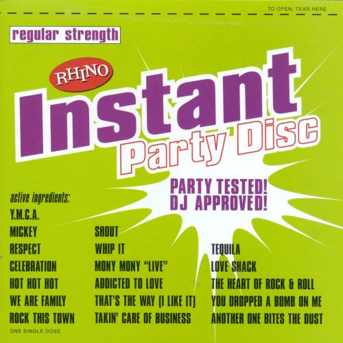 Instant Party Disc: Regular Strength
