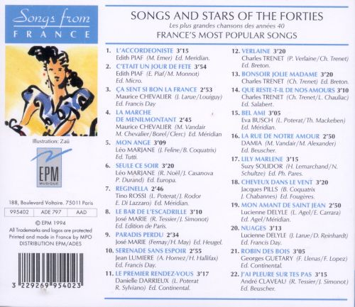 Songs & Stars of the 40's