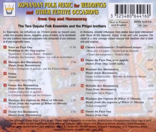 Romanian Music for Weddings & Festive Occasions
