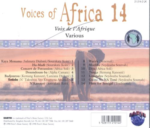 Voices of Africa, Vol. 14: West Africa