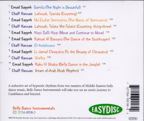 Belly Dance Instrumentals
