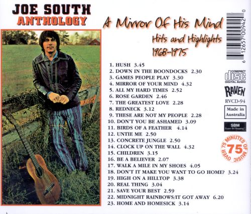 Anthology: A Mirror of His Mind -- Hits and Highlights 1968-1975
