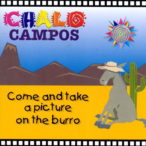 Come & Take a Picture on the Burro