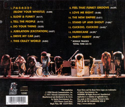 7-6-5-4-3-2-1 Blow Your Whistle: The Best of Gary Toms Empire