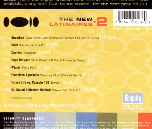 The New Latinaires, Vol. 2