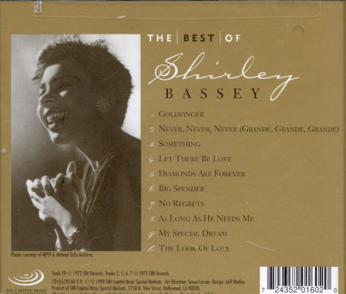 Best of Shirley Bassey [EMI-Capitol Special Markets]