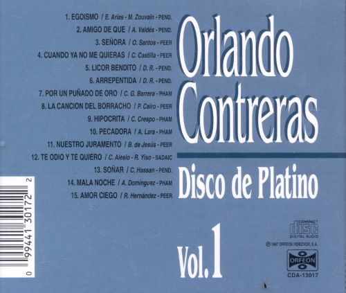Disco de Platino, Vol. 1