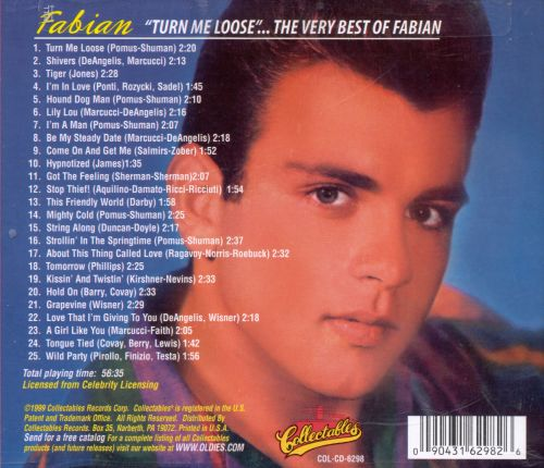 Turn Me Loose!: The Very Best of Fabian
